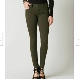 Miss Me Standard Skinny Mid Rise Embroidered